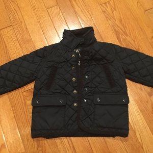 Crewcut boy barn coat 2T